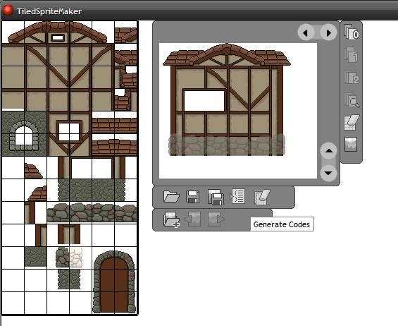 Tiled Sprite Maker