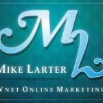 Logo Design for Mike Larter by Teej © Tradnux 2011