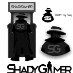 Logo Design for Shady Gamer Site by Teej © Tradnux 2011
