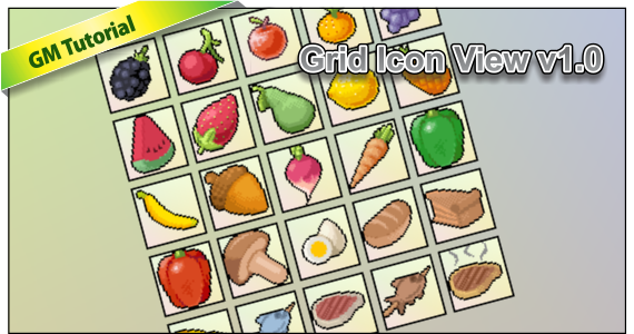 Featured Image for Grid View Table Game Maker Example v1