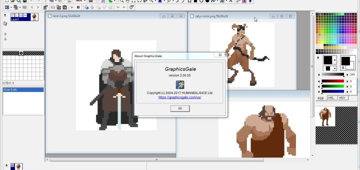 GraphicsGale v2 is now freeware